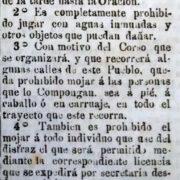El primer Corso quilmeño (1877)