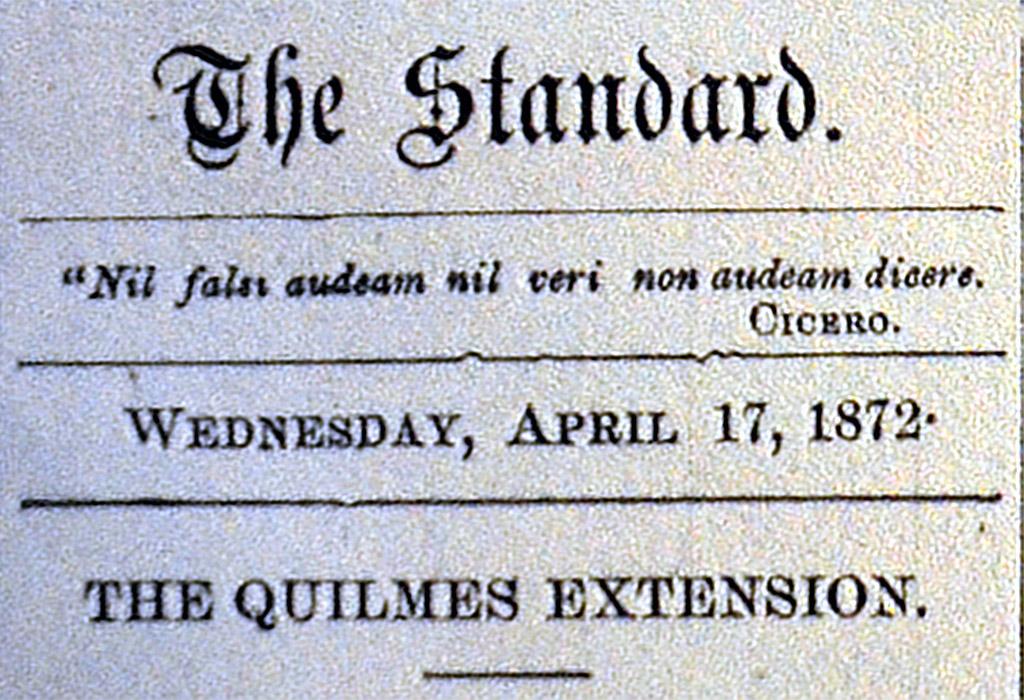 ¿Cómo era el Quilmes del siglo XIX?