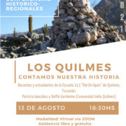 """Ciclo de Conferencias: """"Los Quilmes contamos nuestra historia"""""""